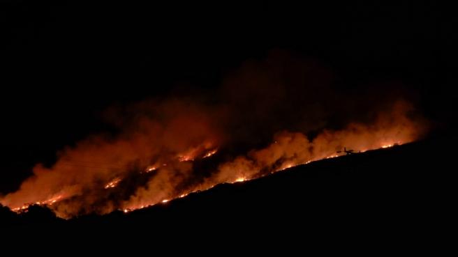 Carn Brea Fire