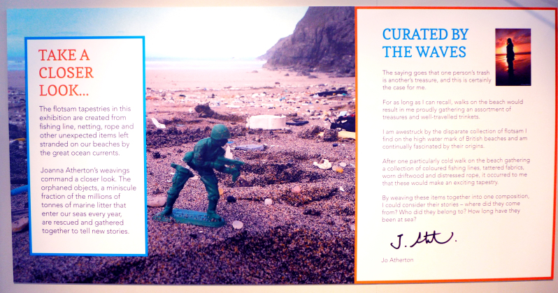 Curated by the waves