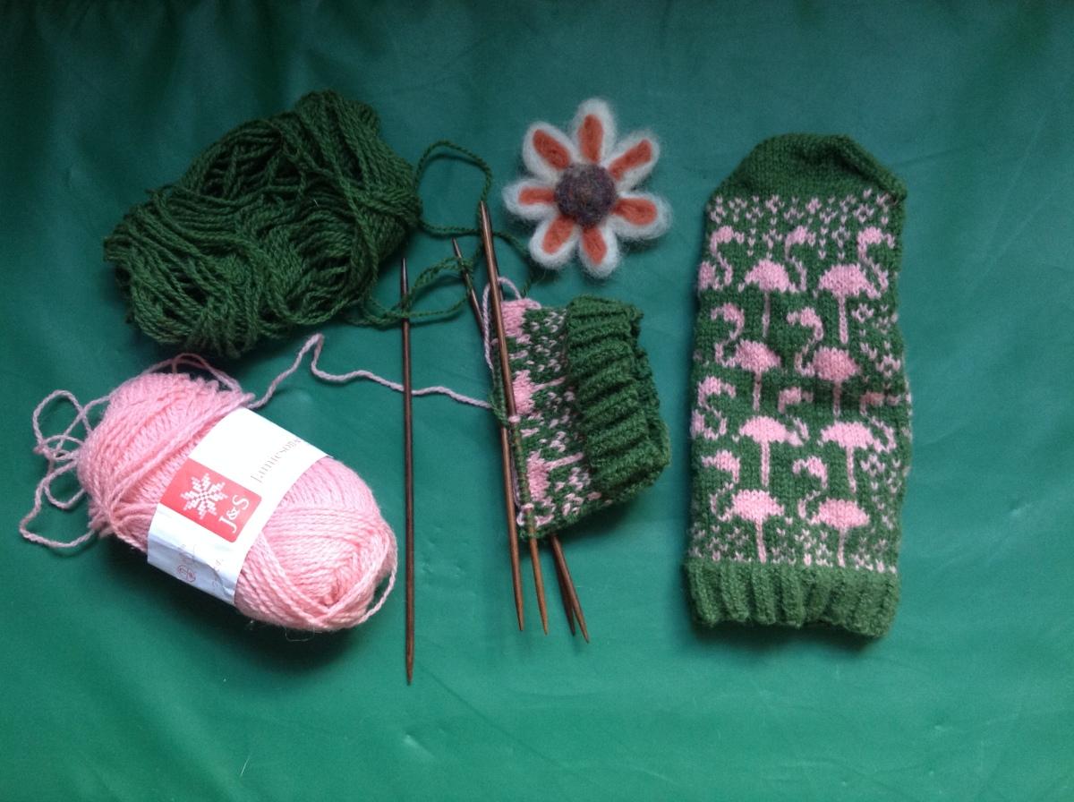 Knit, knit, knit…