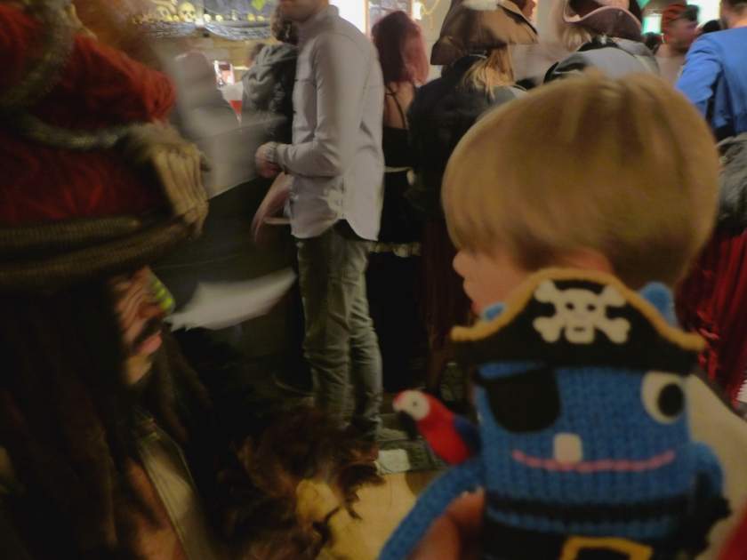 Jack Sparrow and Thom 4