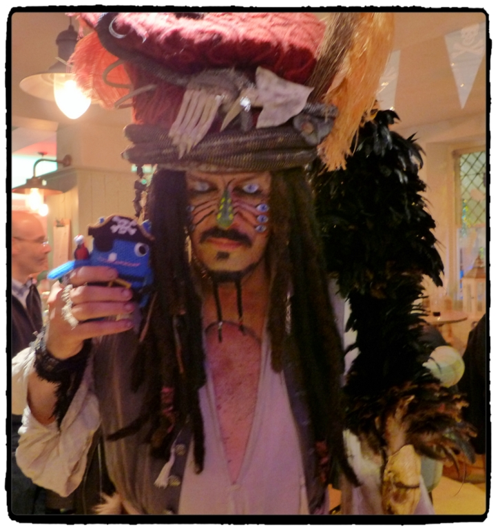 Pirate Beastie and Captain Jack Sparrow