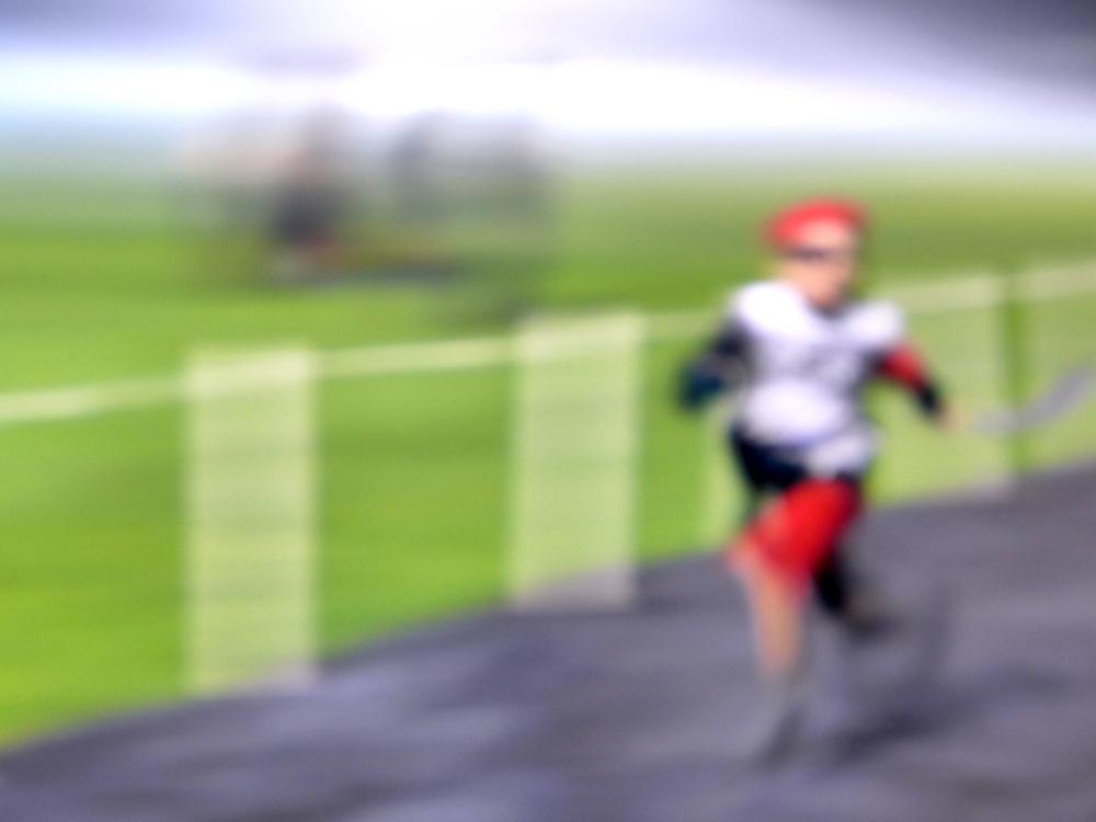 running pirate