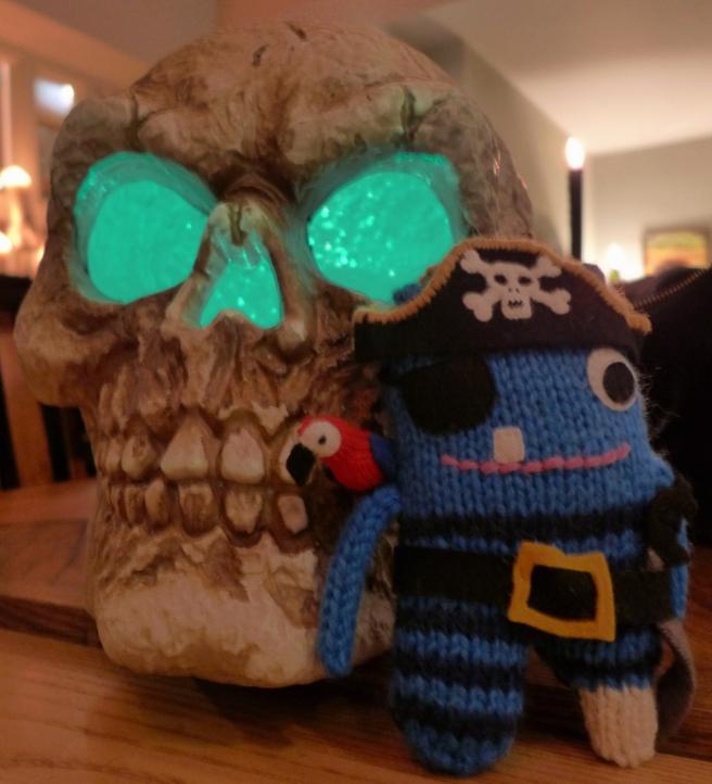 Skull and Pirate Beastie 2