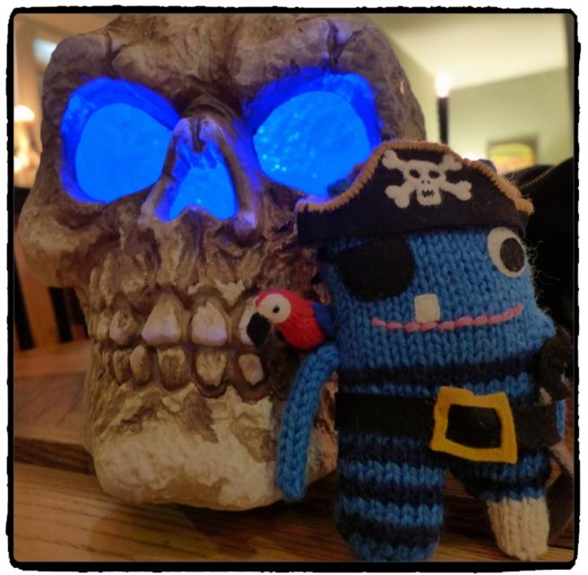 Skull and Pirate Beastie