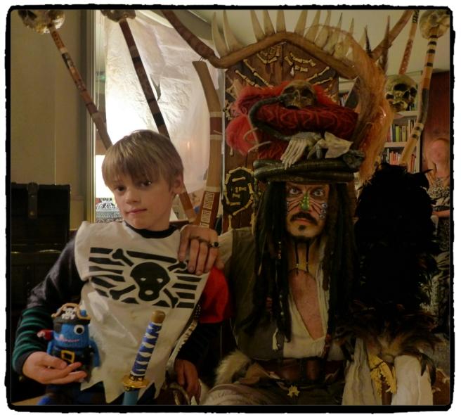 thom+Captain Jack Sparrow