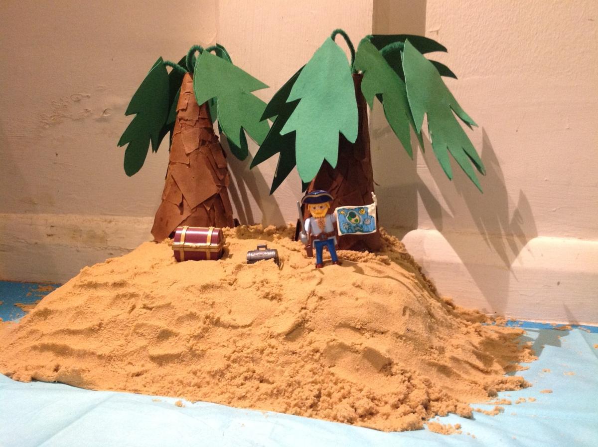 Treasure Island in the living-room…