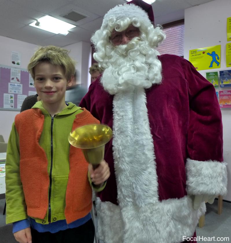 Thom and Santa