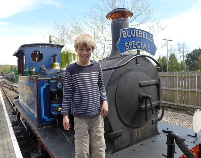 Thom and Bluebell