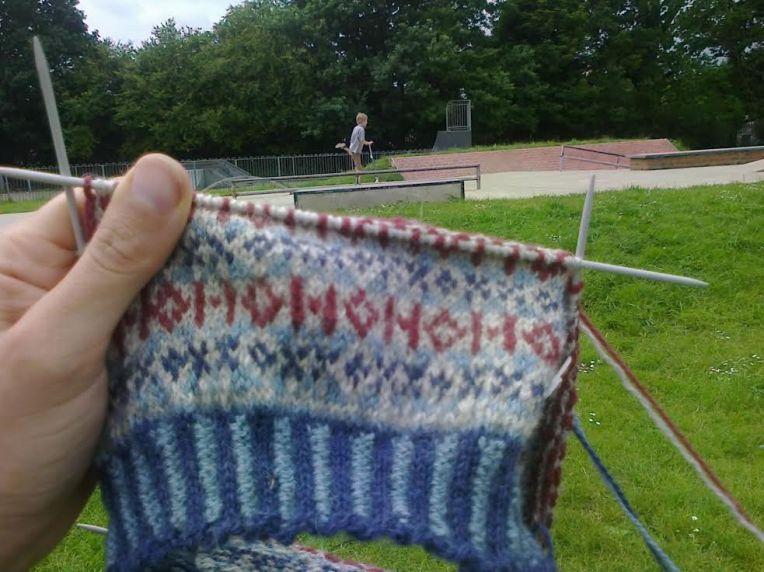 Scooty knits
