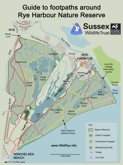 Rye Harbour small-map