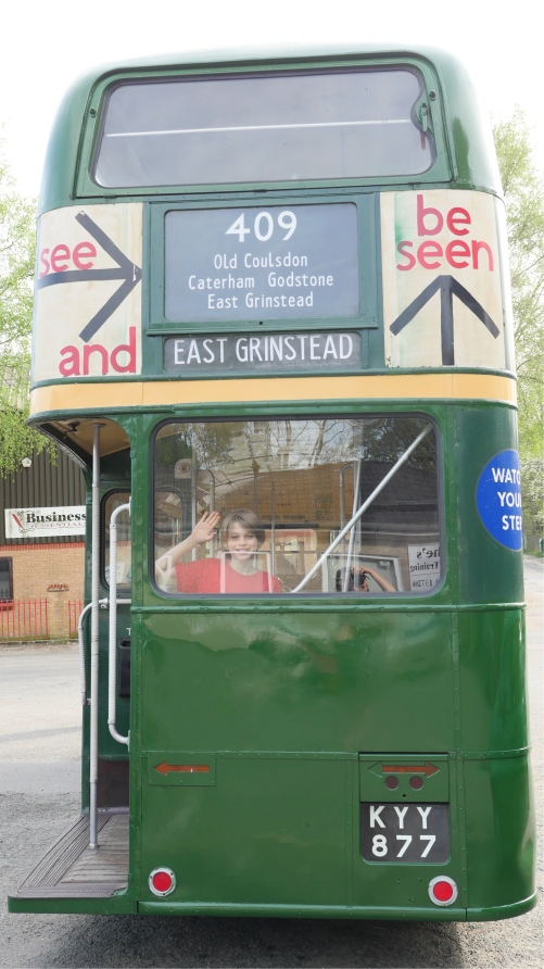 Thom in Green Bus